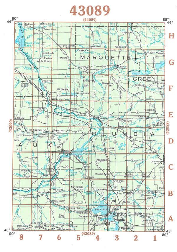 Themapstore Usgs Wisconsin Topographic Maps