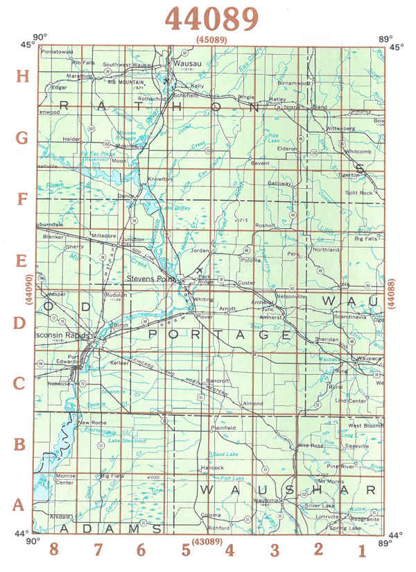 Themapstore Wisconsin Topographical Maps