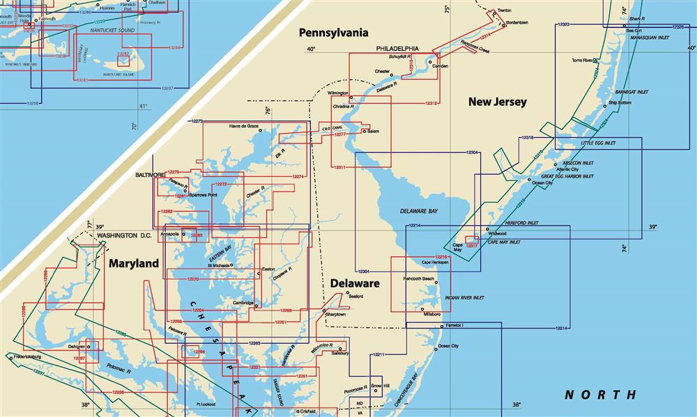 Chesapeake Bay Delaware Bay And New Jersey S