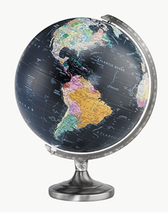 "Picture of Orion 12"" Illuminated World Globe"