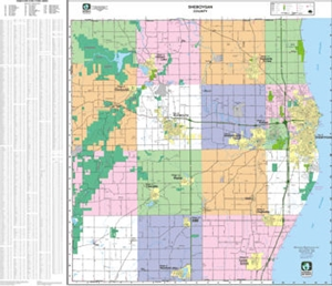 Picture of Sheboygan County Wall Map