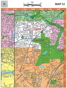 Picture of Milwaukee County & Waukesha County Street Atlas (2016 Edition)