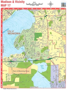 Picture of Madison, Dane County, and Southern Wisconsin Street Atlas