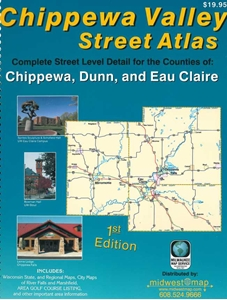 Picture of Chippewa Valley Wisconsin Street Atlas