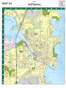Picture of Appleton, Green Bay & Oshkosh Wisconsin Street Atlas