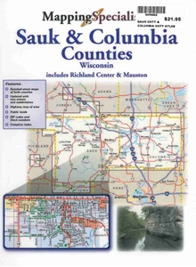 Picture of Sauk County & Columbia County Wisconsin Street Atlas