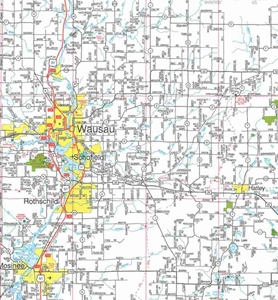 TheMapStore Northeastern Wisconsin Road Map