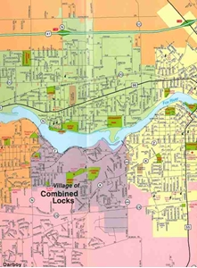 Picture of Appleton and the Fox Cities Quick Reference Map