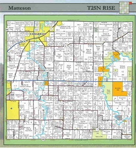 TheMapStore | Waupaca County Wisconsin Plat Book