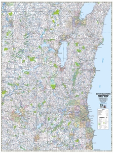 Picture of Southeastern Wisconsin Highway Wall Map