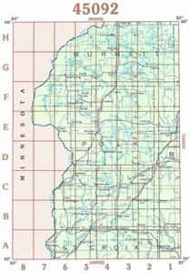 Picture of 45092 - Wisconsin Topographic Maps