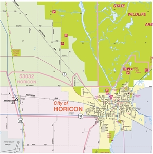 Picture of Dodge County Wall Map