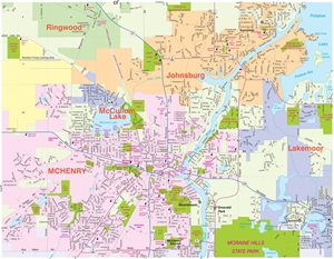 Mchenry Il Map