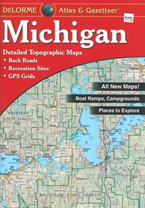 Picture of Michigan Atlas & Gazetteer (Paperback)