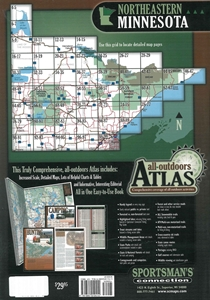 Picture of Minnesota (Northeastern) All-Outdoors Atlas