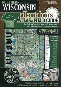 Picture of Wisconsin (Northern) All-Outdoors Atlas & Field Guide