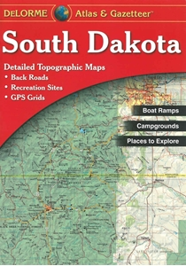 Picture of South Dakota Atlas & Gazetteer (Paperback)