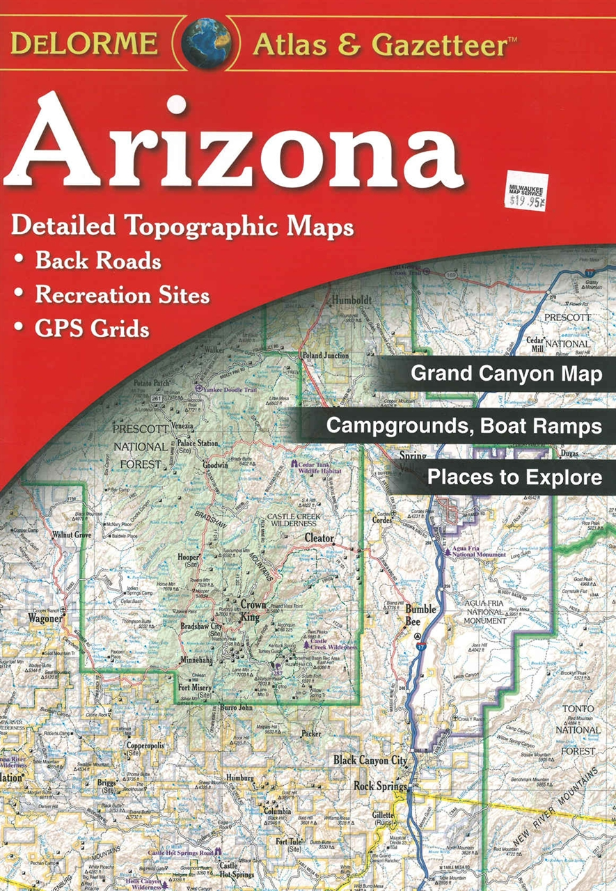 Themapstore Arizona State Atlas Gazetteer
