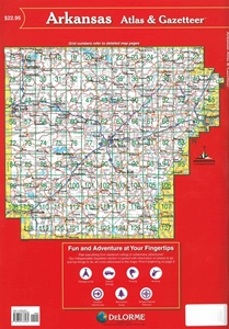 Picture of Arkansas Atlas & Gazetteer