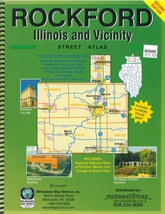 Picture of Rockford Illinois And Vicinity Street Atlas