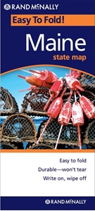 Picture of Maine Easy to Fold State Map