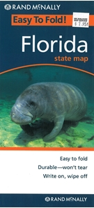 Picture of Florida Easy to Fold State Map