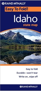 Picture of Idaho Easy to Fold State Map