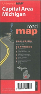 Picture of Capital Area Michigan Road Map