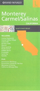 Picture of Monterey & Carmel/Salinas California Local Street Detail Map