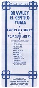 Picture of Brawley, El Centro & Yuma Road Map