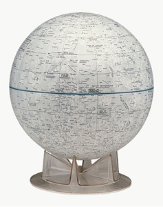 "Picture of Moon 12"" Globe"