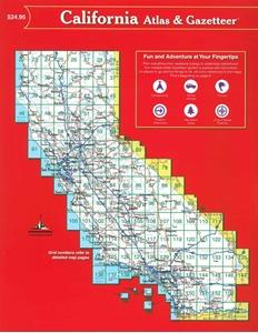 TheMapStore | California Atlas & Gazetteer