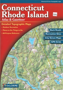 Picture of Connecticut and Rhode Island Atlas & Gazetteer