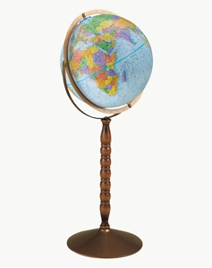 "Picture of Treasury 12"" World Globe"