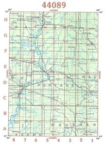 Picture of 44089 - Wisconsin Topographic Maps