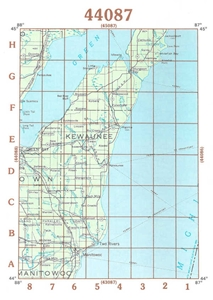 Picture of 44087 - Wisconsin Topographic Maps