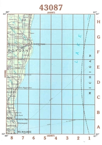 Picture of 43087 - Wisconsin Topographic Maps