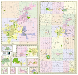 Picture of DeKalb County Illinois Wall Map