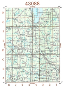 Picture of 43088 - Wisconsin Topographic Maps