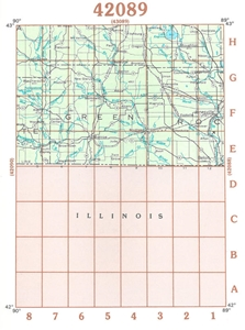 Picture of 42089 - Wisconsin Topographic Maps