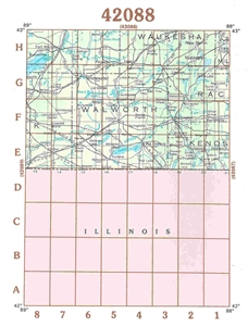 Picture of 42088 - Wisconsin Topographic Maps