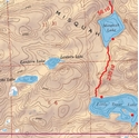 Picture of Boundary Waters Canoe Area Wilderness (BWCAW) and Quetico Provincial Park Maps Map 3 - Ball Club, Winchell and Poplar Lakes