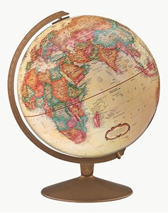 "Picture of Franklin 12"" World Globe"