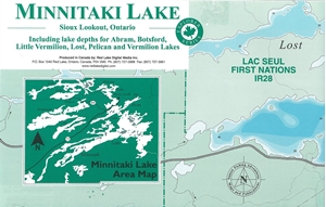 Map Of Canada With Lakes.Themapstore Canada Lake Maps