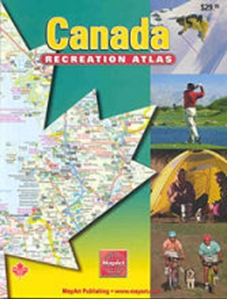 Picture of MapArt Canada Recreation Atlas