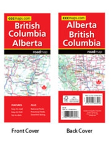 Picture of CCCMaps - British Columbia Alberta