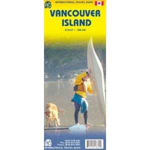 Picture of International Travel Maps - Vancouver Island Travel Map