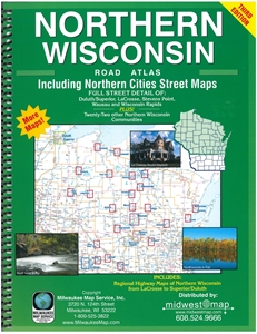 Picture of Northern Wisconsin Road Atlas
