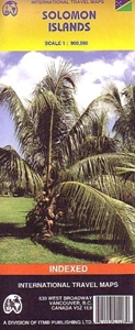 Picture of International Travel Maps - Solomon Islands Travel Map