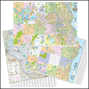 Picture for category County Wall Maps